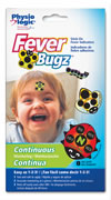 Stick On Fever-Bugz Fever Indicator | Monitor temperature in your children continuously at a glance!